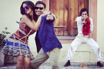 Sonakshi Sinha and Ajay Devgn in Action Jackson Movie Stills Pic 1