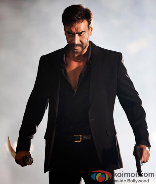Ajay Devgn in a still from movie 'Action Jackson'