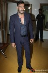 Ajay Devgn during the promotion of movie 'Action Jackson' on the set of 'Kaun Banega Crorepati'