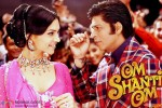 Deepika Padukone and Shah Rukh Khan in a still from movie 'Om Shanti Om'
