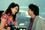 Preity Zinta and Shah Rukh Khan in a still from movie 'Dil Se..'