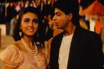 Suchitra Krishnamoorthi and Shah Rukh Khan in a still from movie 'Kabhi Haan Kabhi Naa'