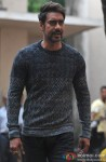 Ajay Devgn Snapped On The Sets Of 'Action Jackson' Pic 2