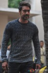 Ajay Devgn Snapped On The Sets Of 'Action Jackson' Pic 4