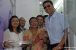 Akshay Kumar during the launch of La Piel Clinic Pic 3