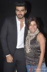 Arjun Kapoor and Zoya Akhtar during the 16th MAMI Film Festival in Mumbai