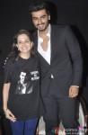 Anupama Chopra and Arjun Kapoor during the 16th MAMI Film Festival in Mumbai