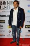 Anurag Kashyap during the opening ceremony of 16th MIFF