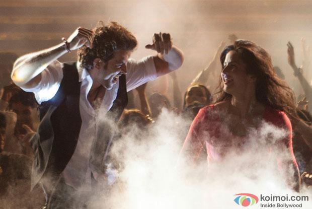 Hrithik Roshan and Katrina Kaif in a still from movie 'Bang Bang'