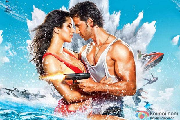 Katrina Kaif and Hrithik Roshan in a still from movie ' Bang Bang'