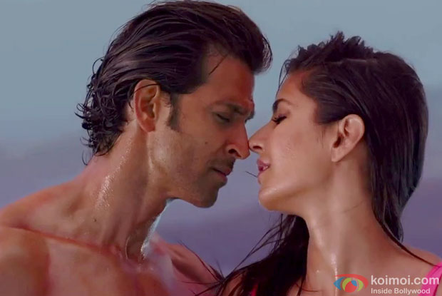 Hrithik Roshan and Katrina Kaif in a still from movie 'Bang Bang'