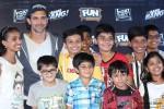 Hrithik Roshan during the kids special screening of movie 'Bang Bang' Pic 5
