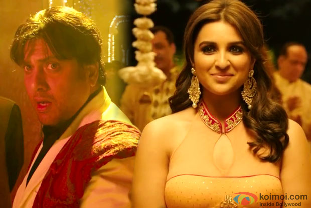 Govinda and Parineeti Chopra in a still from movie 'Kill Dil'