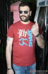 Aditya Pancholi Cast Vote For Maharashtra State Assembly Elections 2014