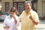 Subhash Ghai Cast Vote For Maharashtra State Assembly Elections 2014