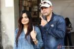 Alvira Khan and Atul Agnihotri Cast Vote For Maharashtra State Assembly Elections 2014