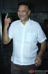 Suresh Oberoi Cast Vote For Maharashtra State Assembly Elections 2014