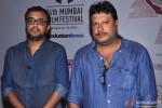 Dibakar Banerjee and Tigmanshu Dhulia at day 3 of 16th Mumbai Film Festival (MAMI)