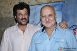 Anil Kapoor and Anupam Kher during the special screening of movie 'Ekkes Toppon Ki Salaami'