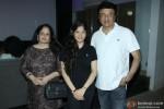 Anju Malik, Ada Malik and Anu Malik during the special screening of 'Sonali Cable'