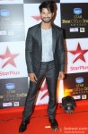 Shahid Kapoor during Star Plus Box Office India Awards