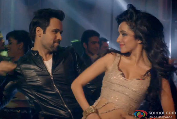 Emraan Hashmi and Shraddha Kapoor in a still from 'Ungli'