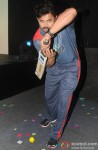 S. Sreesanth during the launch of 'Box Cricket League'