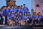 ChandigarhCubs Team during the launch of 'Box Cricket League'