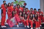 Jaipur Raj Team during the launch of 'Box Cricket League'