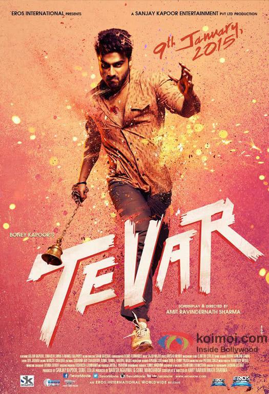 Arjun Kapoor in 'Tevar' movie poster
