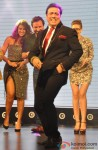 Ileana D'Cruz, Saif Ali Khan, Govinda and Kalki Koechlin during the music launch of movie 'Happy Ending'