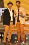 Sachin Sanghvi and Jigar Saraiya during the music launch of movie 'Happy Ending'
