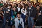 Abhishek Bachchan, Farah Khan, Shah Rukh Khan, Deepika Padukone, Boman Irani and Vivaan Shah at Google and Twitter Headquarters