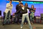 Boman Irani, Abhishek Bachchan, Shah Rukh Khan, Deepika Padukone and Farah Khan at Google and Twitter Headquarters