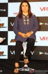 Farah Khan during the launch of Happy New Year Game