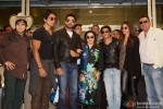 Vivaan Shah, Sonu Sood, Abhishek Bachchan, Farah Khan, Shah Rukh Khan, Deepika Padukone and Boman Irani Back In India After SLAM! The Tour Pic 2