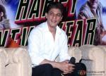 Shah Rukh Khan during the Happy New Year's press meet in Kolkata