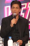 Shah Rukh Khan during the promotion of movie 'Happy New Year' in Delhi