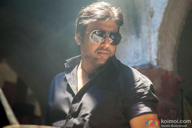 Govinda in a still from movie 'Kill Dil'