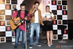 Ayshmann Khurrana and Huma Qureshi during the launch of new punjabi single 'Mitti Di Khushboo' Pic 2