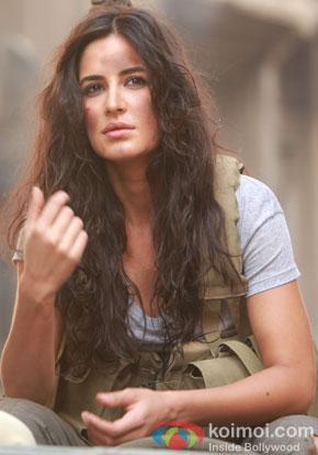 Katrina Kaif in a still from movie' Phantom'
