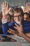 Amitabh Bachchan Snapped At Kolkata Airport