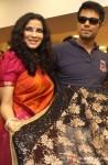 Nandana Sen and Randeep Hooda during the promotion of movie 'Rang Rasiya' in Kolkata