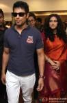 Randeep Hooda and Nandana Sen during the promotion of movie 'Rang Rasiya' in Kolkata Pic 1