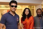 Randeep Hooda and Nandana Sen during the promotion of movie 'Rang Rasiya' in Kolkata Pic 2