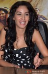 Naura Fatehi during the promotion of movie 'Roar' in Ghaziabad Pic 3
