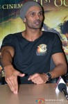 Aaran Chaudhary during the promotion of movie 'Roar' in Ghaziabad