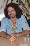 Aadil Chahal during the promotion of movie 'Roar' in Ghaziabad
