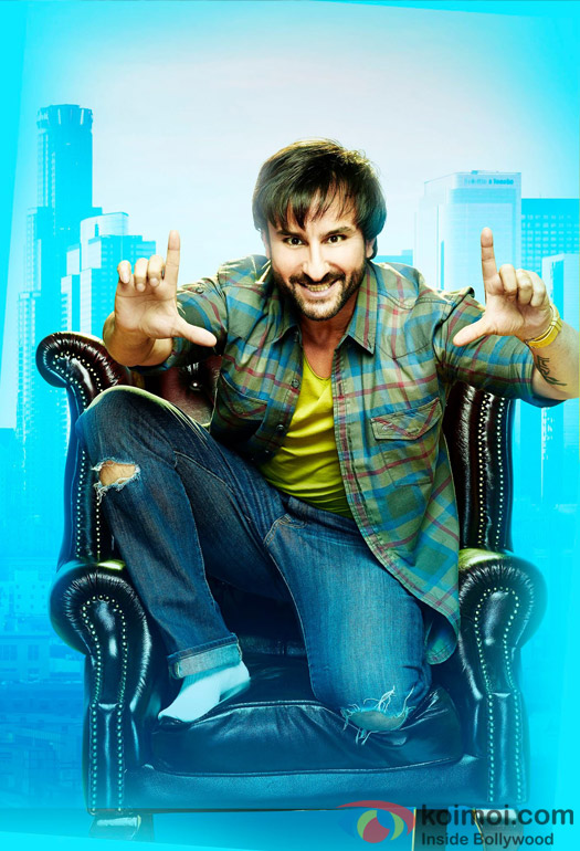 Saif Ali Khan in a still from movie 'Happy Ending'