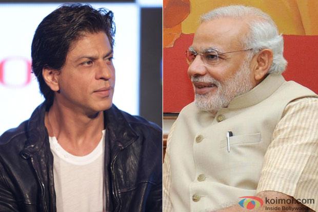 Shah Rukh Khan and PM Narendra Modi
